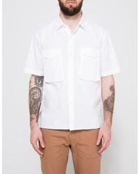 Our Legacy White Poplin Uniform Shirt