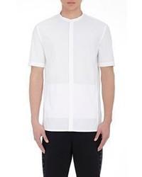 Helmut Lang Poplin Banded Collar Shirt