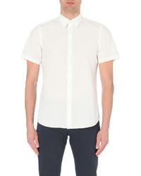 Paul Smith Ps By Tailored Fit Cotton Poplin Shirt