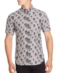Alexander McQueen Regular Fit Short Sleeve Shirt