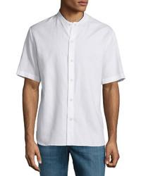rag & bone Richmond Short Sleeve Shirt White