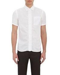 Kolor Ruched Short Sleeve Shirt White