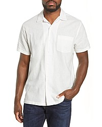 Onia Short Sleeve Button Up Vacation Shirt