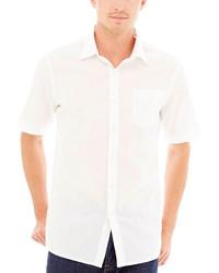 Claiborne Short Sleeve Linen Shirt