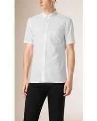 f1f8e5277348 ... Burberry Short Sleeved Stretch Cotton Poplin Shirt