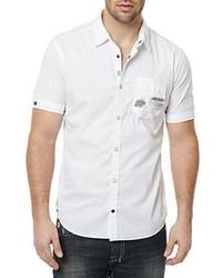 38a435650d Savy Sportshirt Out of stock · Buffalo David Bitton Sixelam Short Sleeve  Printed Shirt