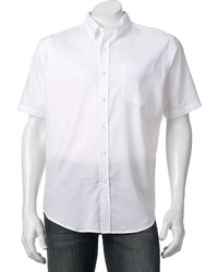 croft & barrow Solid Easy Care Button Down Shirt