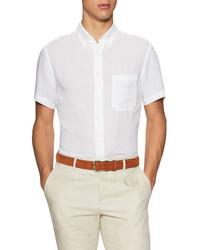 Billy Reid Tuscumbia Linen Short Sleeve Sportshirt