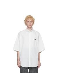 Balenciaga White Crew Short Sleeve Shirt