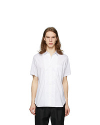 Junya Watanabe White End On End Short Sleeve Shirt