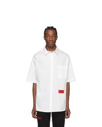 424 White Logo Short Sleeve Shirt
