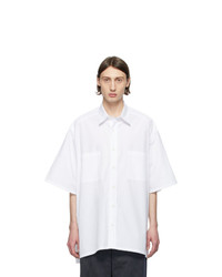 Givenchy White Oversize Patch Shirt