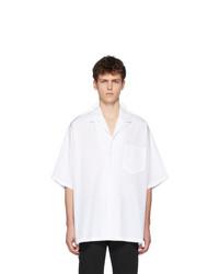 Maison Margiela White Oversized Poplin Shirt