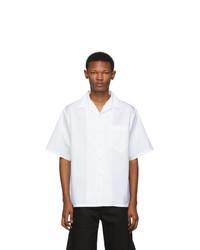Prada White Poplin Shirt