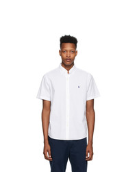 Polo Ralph Lauren White Seersucker Classic Fit Shirt