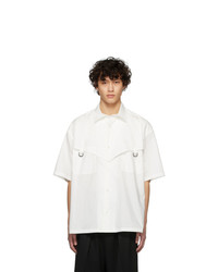 Ambush White Short Sleeve Shirt