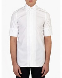 Paul Smith White Short Sleeved Cotton Shirt