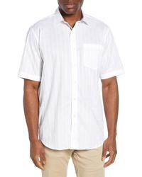Bugatchi Windowpane Woven Shirt