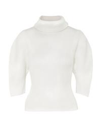 Khaite Bret Ribbed Merino Wool Turtleneck Sweater