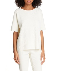 Eileen Fisher Silk Cotton Sweater