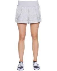 adidas by Stella McCartney Yoga Organic Cotton Terrycloth Shorts