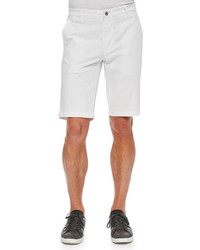 AG Jeans Ag Griffin Flat Front Shorts White