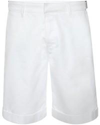 Alexander McQueen Light Cotton Drill Shorts