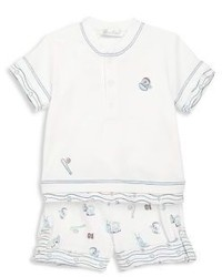Kissy Kissy Babys Two Piece Top Shorts Set