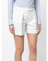 Jil Sander Navy Cross Pattern Shorts