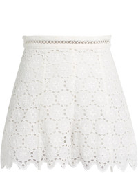 Zimmermann Divinity Wheel Broderie Anglaise Shorts