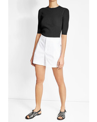 Vince High Waisted Cotton Shorts