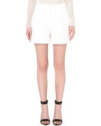 Maje Ichtys Flared Cotton Shorts