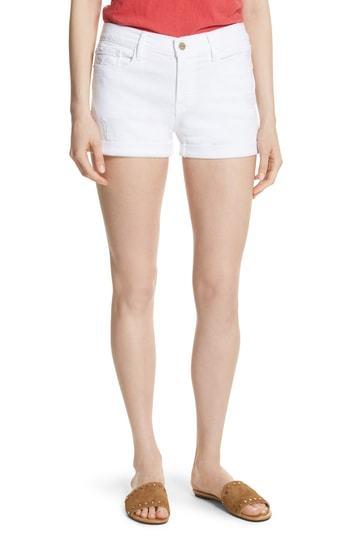 Frame Le Cutoff Cuffed Jean Shorts