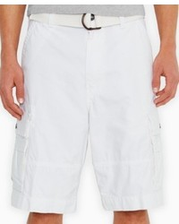 Levi's Squad White Loose Fit Shorts