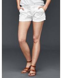 Gap Linen Cotton Utility Shorts