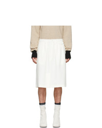 Random Identities Off White Officer Skirt Shorts
