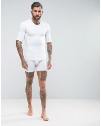 Asos Shapewear Shorts In White