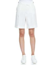 Loro Piana Stretch Cotton Twill Golf Shorts