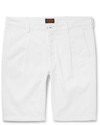 Tod's Stretch Cotton Twill Shorts