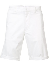 Diesel White Tailored Shorts