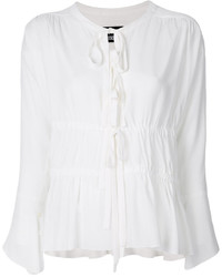 Moschino Boutique Peasant Blouse