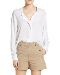 Vince Sheer Silk Blouse