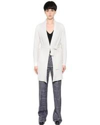 Calvin Klein Collection Ribbed Cashmere Silk Cardigan