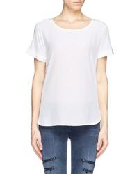 Nobrand Silk Front Jersey T Shirt