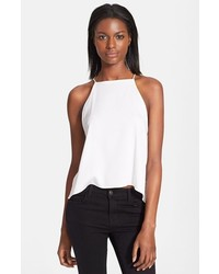Milly Stretch Silk Trapeze Camisole