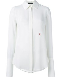 Alexander McQueen Embroidered Logo Shirt