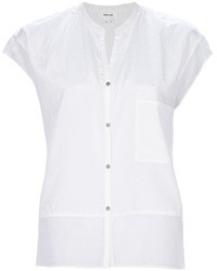 Helmut Lang Sheer Panel Blouse