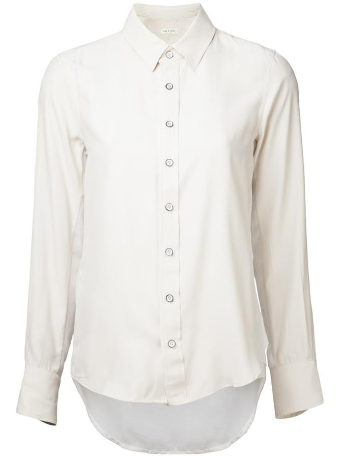 Rag and bone rag bone hudson shirt where to buy how to for Rag and bone white t shirt
