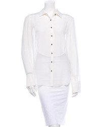 Elizabeth and James Silk Blouse W Tags