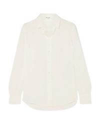 Saint Laurent Silk De Chine Shirt